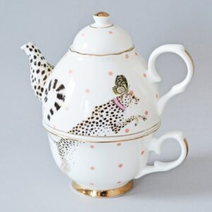 Cheetah tea for one