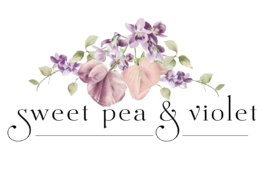 Sweet Pea and Violet